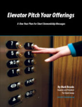 Elevator Pitch Your Offerings (Free!)