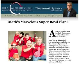 Mark's Marvelous Super Bowl Plan Free!!!!!